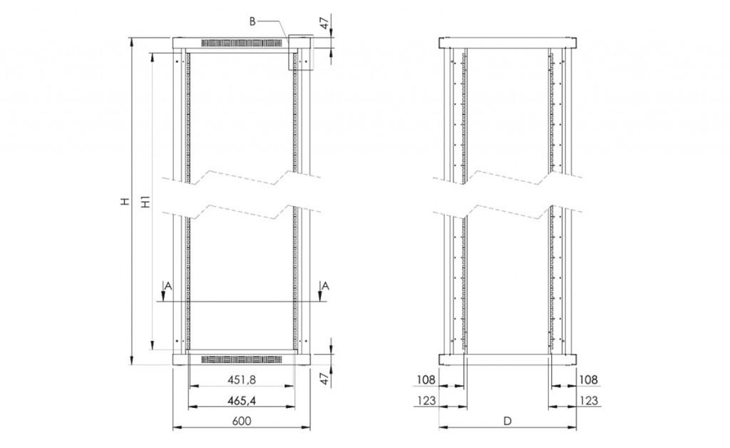 Alpi Cabinet 19 Omp Mechtron