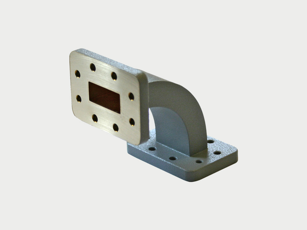 Microwave Waveguide E H Bend